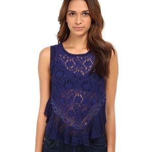 NEW Free People Lace Top